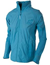 Womens Mac in a Sac Continental Waterproof Jacket - Calypso Blue, Size 18 (44in Chest)