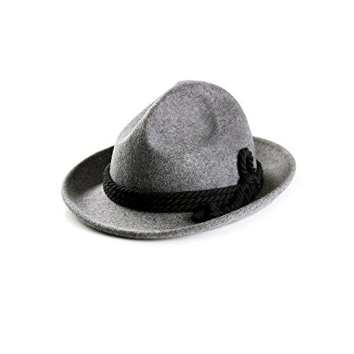 ALMBOCK Trachtenhut Herren grau dunkelgrau H5 | Herren -