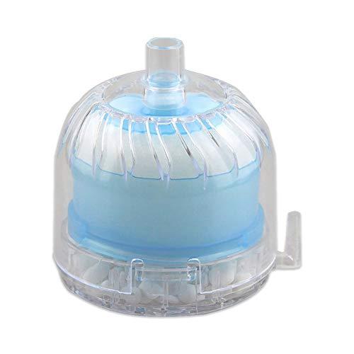 shuaishuang573 Round Aquarium Air Filter Aquarium Fish Tank Bio Filter Sponge Box Filter
