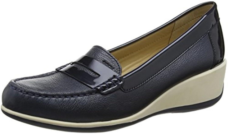 Geox Damen D Arethea B Mokassin 2018 Letztes Modell  Mode Schuhe Billig Online-Verkauf