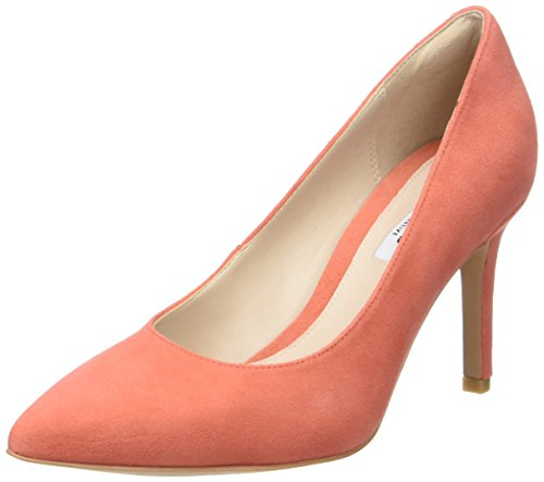 Clarks Damen Dinah Keer Pumps, Orange (Coral Suede), 38 EU