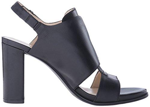 Nine West poplock cuir Sandales à talons Black