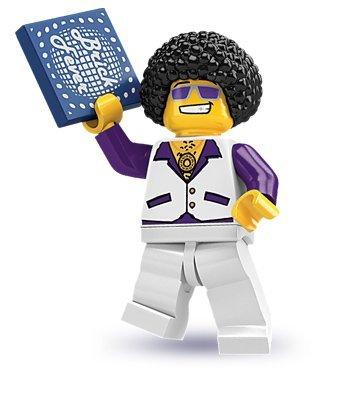 LEGO Figurines à Collectionner: Disco King Mini-Figurine (Série 2) (Dans Un Sac)