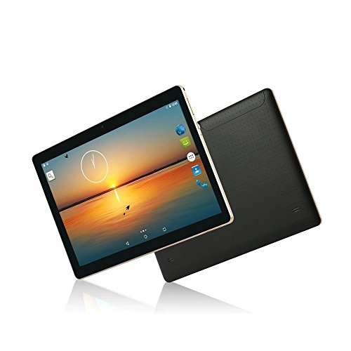 Tablette Tactile 10.1 pouce Android 7.0 YOTOPT, Deux Sim Cartes Fente, 2 GO RAM+18 GO ROM, WIFI / USB /Bluetooth / GPS(Noir)