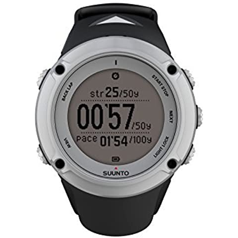 Suunto Reloj Ambit 2 Watch - Silver/Black by Suunto