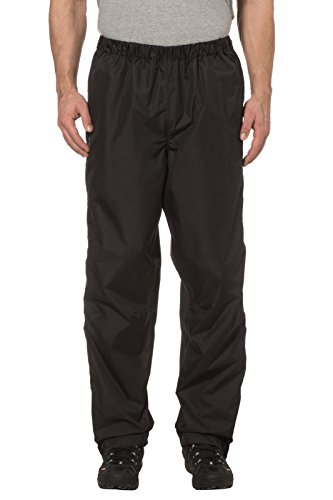 VAUDE MENS FLUID FULL ZIP PANTS II   PANTALON COLOR BLACK  TALLA S