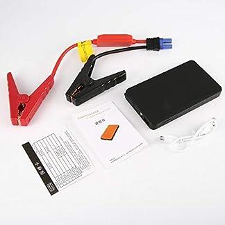 LmqhGzuqume BLY-01 Portable 12V 30000mAh Multifunción Jump Starter Banco de energía de Emergencia (Negro)