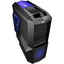 Zalman Z11 Plus - Caja de ordenador (Midi-Tower, PC, De plástico, Acero, 0W, 1x 120 mm, 120, 140 mm) Negro