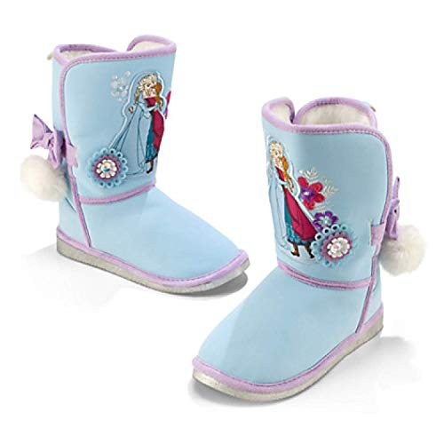 Disney Store Frozen Anna and ELSA Boots Size 7-13 (12 M Little Kid)