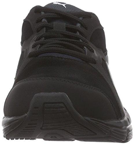 Puma Axis V4 Sd Unisex-Erwachsene Low-Top Schwarz (black-dark shadow 01)