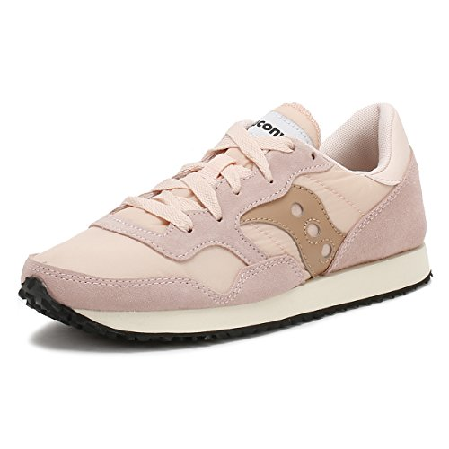 Saucony Womens Tan DXN Vintage Trainers-UK 4