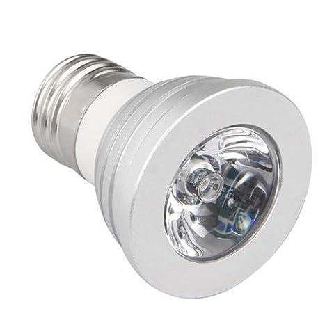 Sonline E27 LAMPE AMPOULE RGB LED MULTICOLORE 5W + TELECOMMANDE