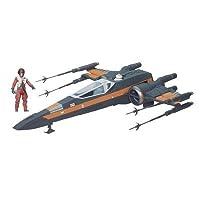 Modellino dettagliato della nave spaziale di Luke Include un personaggio La cabina della navicella puo' ospitare il pilota Il tetto della cabina è trasparente e si puo' aprire Età: +4 anni Descrizione prodotto Descrizione Star Wars - Veicolo ...