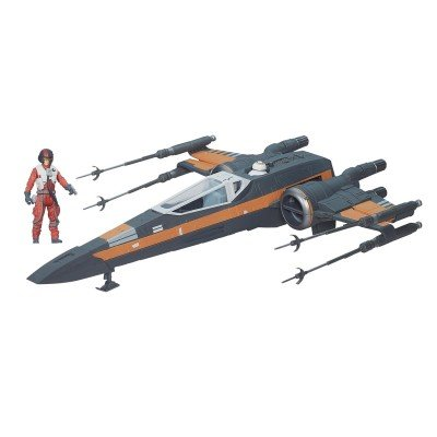Hasbro Star Wars B3953EU5 - E7 Poe Damerons X-Wing Fighter