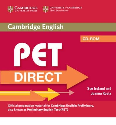 PET Direct Student's Pack (student's Book with Cd Rom and Workbook without Answers) (Mixed media product) - Common