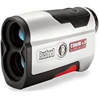 Bushnell Tour V3 Slope - Medidor láser golf, blanco