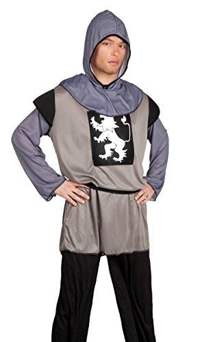 Boland 83809 - Erwachsenenkostüm Ritter Galahalt, schwarz (Der König Der Herzen Kostüm)