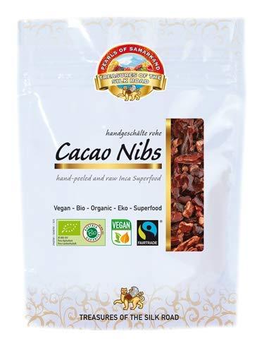 Semillas de Cacao crudas Bio 700 gr granos habas de cacao criollo ecológicas 100% naturales organic Cacao Nibs 7x100 gr