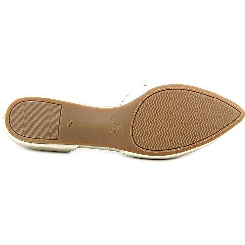 Isaac Mizrahi Nikki Femmes Cuir Chaussure Plate gold