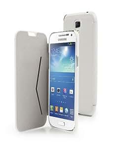 Etui Galaxy S4 Mini à rabat Muvit Flip Folio Blanc Stone Samsung Galaxy S4 Mini pour le Samsung Galaxy S4 Mini