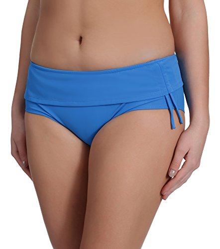 Merry Style Damen Bikinislip Modell Steffi2 Blau (60009)