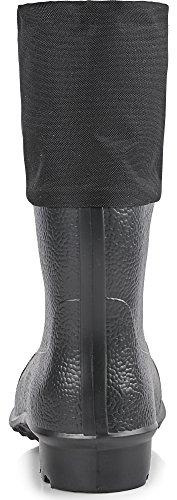 Ladeheid Doublé Hommes Bottes de feutre KL024K Noir