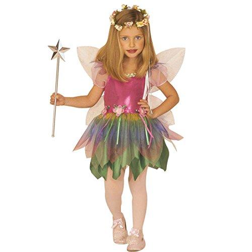 Imagen de vestido hada disfraz hadita infantil m 140 cm años 8  10 atuendo campanilla traje mariposa niña vestido elfo infantil ropa de cuento campanita