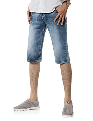 Demon&Hunter 9801 Series Men's Short Jeans