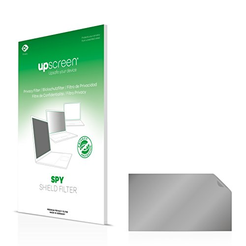 upscreen Spy Shield Filter Privacy Filter Hanns.G HE225DPB - Privacy Protection, Scratch-proof, Anti-Glare Protection, Made in Germany