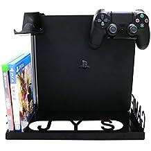 YockTec Xbox One X/Xbox One S Soporte de pantalla para montaje en pared, Soporte Vertical Console, organizador Premium con Diseño Compacto para Xbox One X/Xbox One S/PS4/PS4 Slim /PS4 Pro/PlayStation