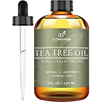 ArtNaturals Tea Tree Essential Oil - 4 oz Pure and Natural Premium Melaleuca Therapeutic Grade