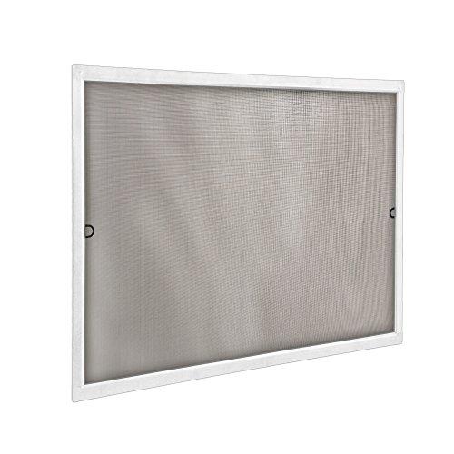 JAROLIFT Insektenschutz Spannrahmen SlimLine für Fenster 90 x 150cm in weiß