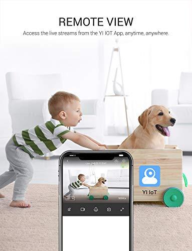 Keyke Cámara Vigilancia Wifi 1080p,  Cámara IP Interior,  Sistema de Vigilancia,  Visión Nocturna,  Alertas de Movimiento,  Audio Bidireccional Servicio de Nube -  App iOS / Android