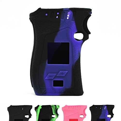 Vaportown Silikon Hülle for SMOK Mag Kit Schützende Haut Cover Wrap for Smok Mag Mod 225W (Violett/Schwarz) (Mag Wrap Cover)