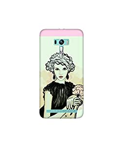 Kolor Edge Printed Back Cover for Asus Zenfone Selfie - Multicolor (4400-Ke10188ZenSelfieSub)
