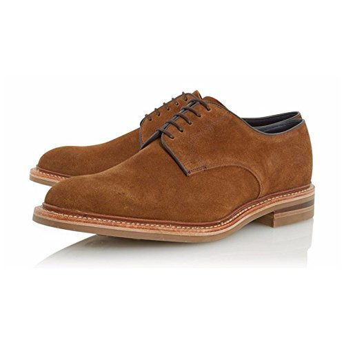 loake-rowe-mens-formale-schuhe-9-uk-43-eu-tan