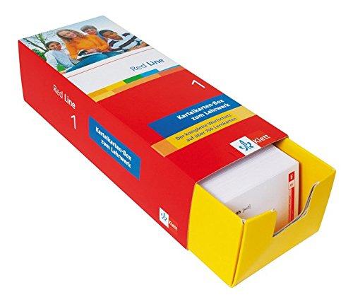 Red Line 1. Vokabel-Lernbox zum Schülerbuch