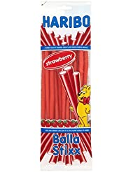 Haribo Strawberry Balla Stixx Sweets, 160g
