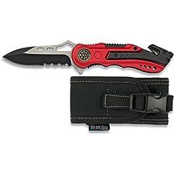 M.ALBAINOX Couteau avec étui de sécurité Swat