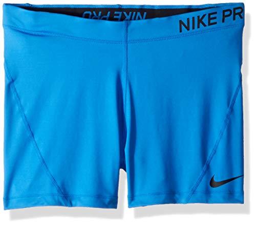 Nike W NP Short 3IN Short Damen blau Signal Blue/Black.