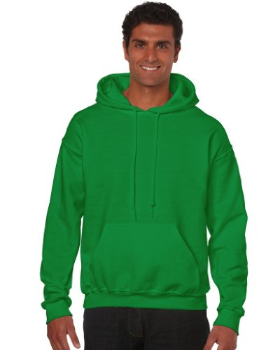 Gildan Heavy Blend Erwachsenen Kapuzen-Sweatshirt 18500 Irish Green, M