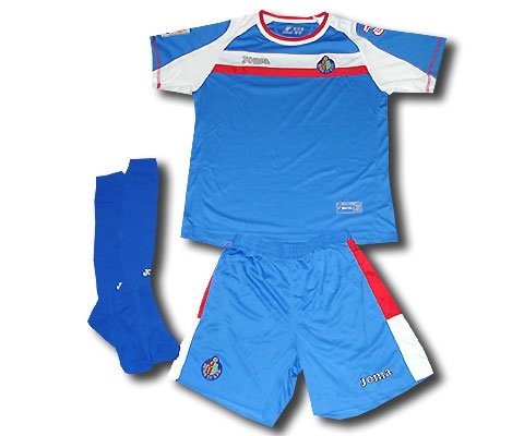 Joma Getafe minikit shirt and short 2008