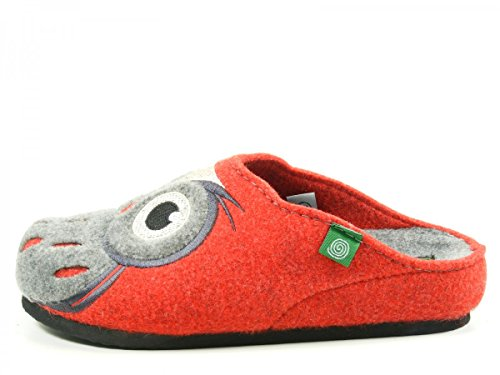 Dr.Brinkmann 320455 donna slippers Rot