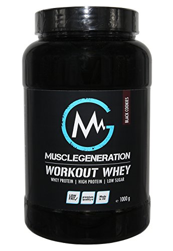 Musclegeneration   Workout Whey   1000g (Black Cookie)