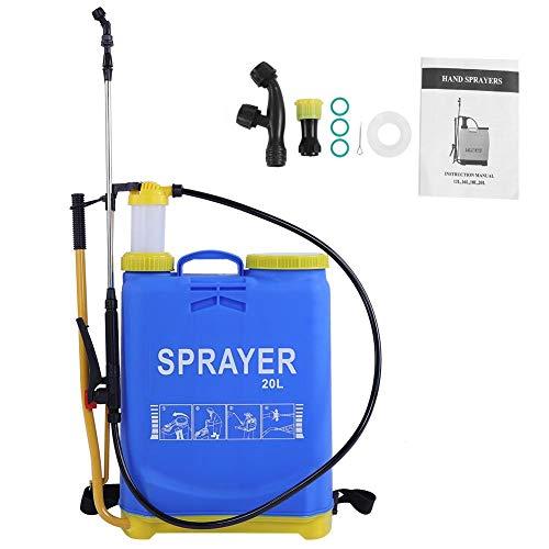 Asixx Rucksack-Sprühgerät, 20L-Hochleistungs-Handsprühgerät für den Garten, Gartenreinigung, PKW-Reinigung, Desinfektion und andere Aktivitäten
