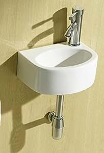 hansvit nixar nixa small right hand basin white diy tools. Black Bedroom Furniture Sets. Home Design Ideas