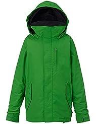 Burton–Chaqueta de snowboard Link Sistema Jacket, otoño/invierno, niño, color Slime, tamaño S