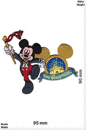 Patch - Mickey Mouse - Walt Disney World - Cartoon - Mickey Mouse - Aufnäher - zum aufbügeln - Iron ()