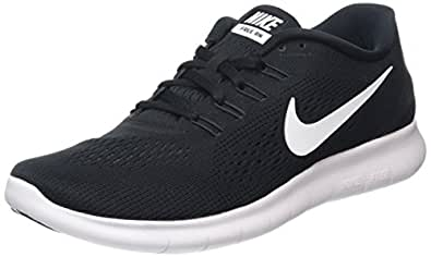 Nike Men's Free Rn Running Shoes, Black/White/Anthracite