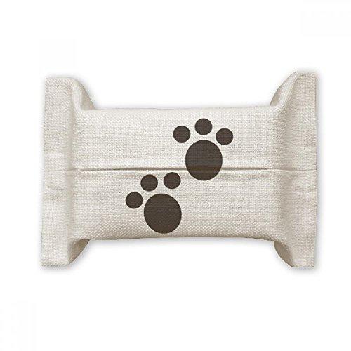 DIYthinker Hund Animal Claw Paw Print Schützen Baumwolle Linen Seidenpapier Cover Halter Container Geschenk